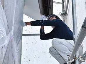 付帯部塗装|山田工芸の塗装工事施工メニュー