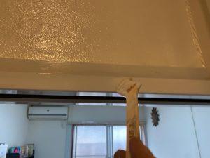 室内木枠塗装