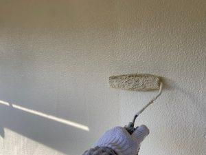 東京都大田区にて外壁塗装工事 残り一面の塗装