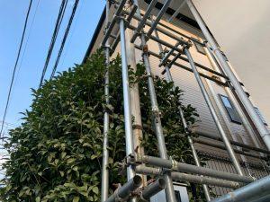 東京都大田区にて外壁塗装工事 施工前