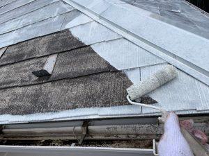 外壁塗装工事 シーラー塗り