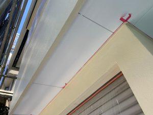 東京都大田区にて外壁塗装工事 外壁3面の中塗り・上塗り