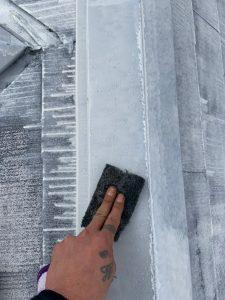 外壁塗装工事 ケレン
