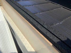 天窓に雨漏り防止のためのゴムを後付け