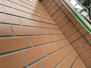 外壁塗装工事 クリアー塗装