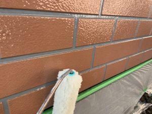 外壁上塗りクリヤー塗装