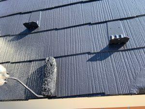 大屋根屋根4回目塗り