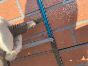 外壁塗装工事 コーキング打ち替え