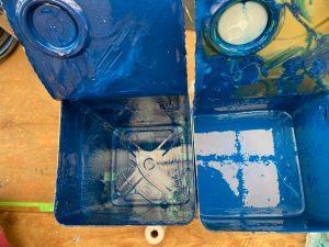 今回使用した塗料は日本ペイントの『パーフェクトトップ』