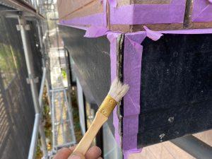 シーリング用のプライマー塗装