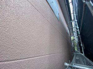 外壁面の塗装はすべて完了