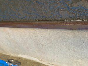 横樋、縦樋、水切り塗装