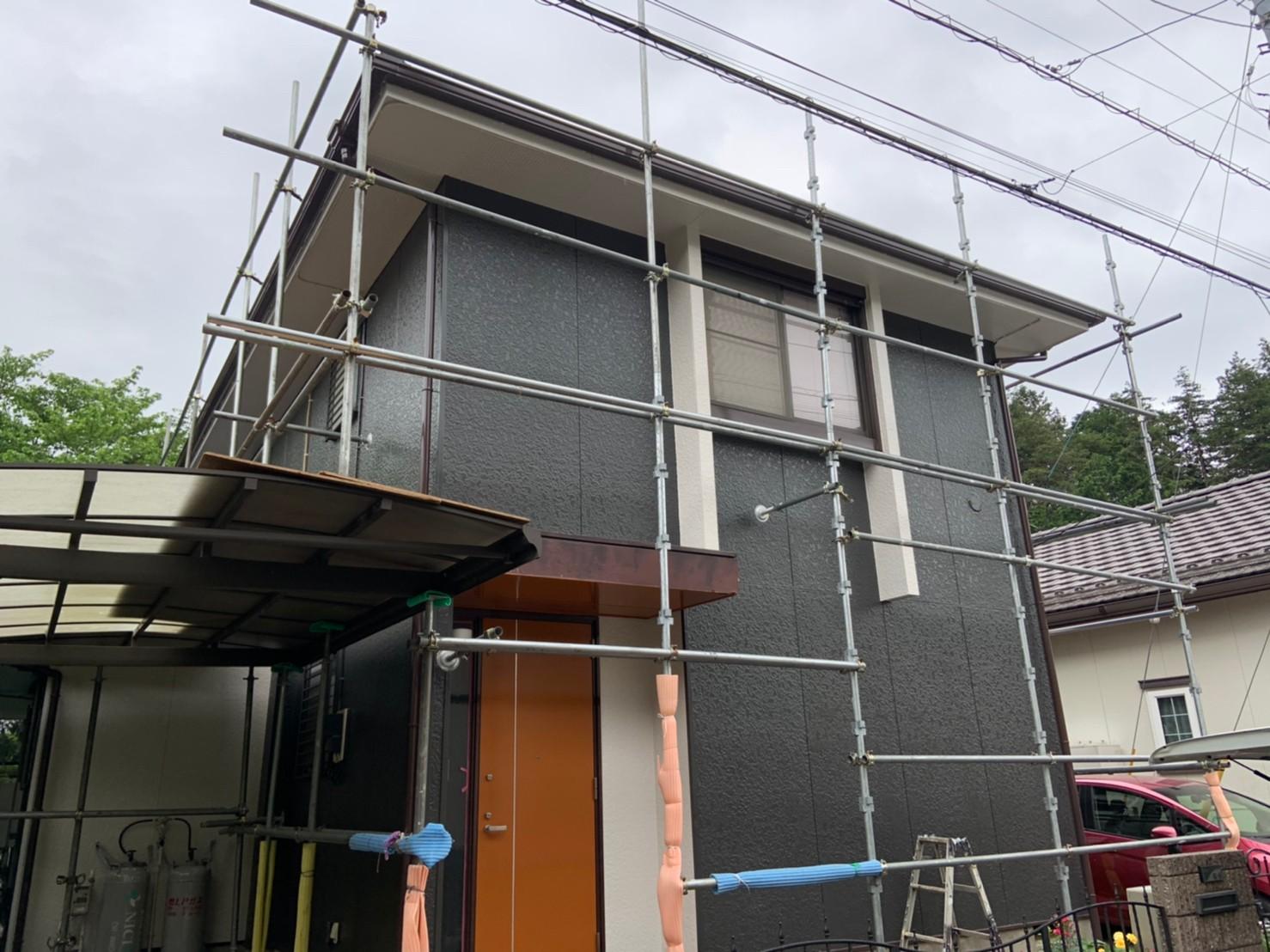 横浜市瀬谷区にて外壁塗装 〜完工〜
